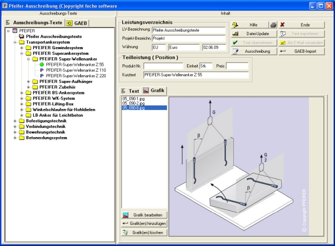 Fecho software architektur online auschreibung ava for Software architektur